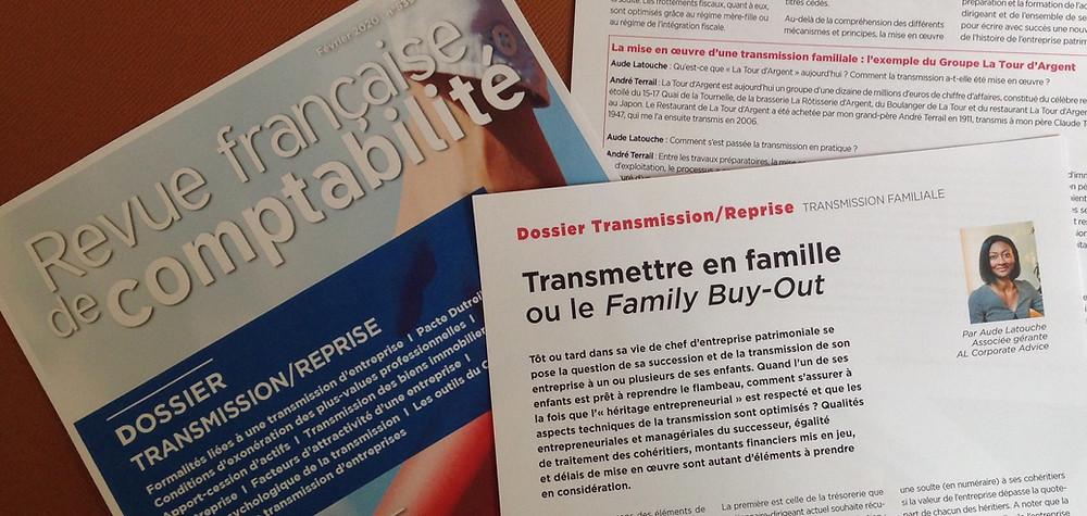 Aude Latouche RFC 534 Financements haut de bilan