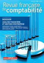 Revue Française de comptabilité - avril 2018