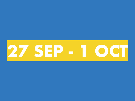TY Newsletter 27th September - 1st October