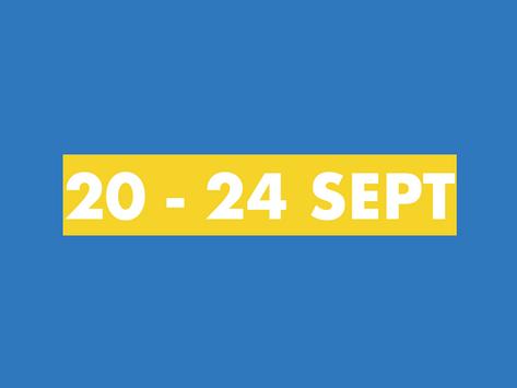 TY Newsletter 20th - 24th September