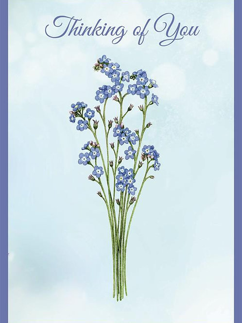 DT18073 'Forget me Not' (6 cards @ 39p each)