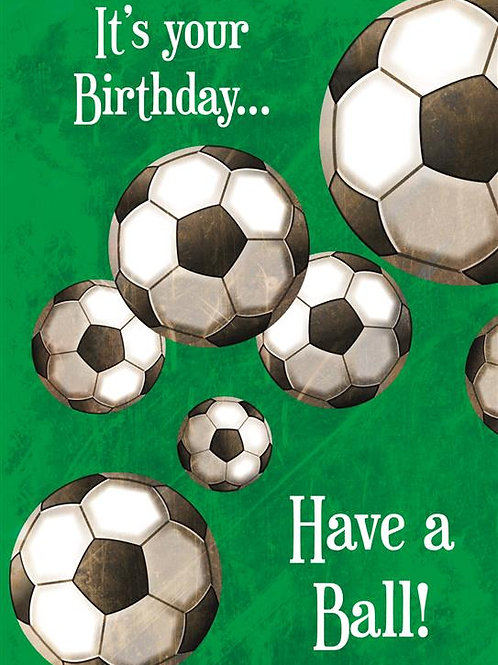DT18072 'Have a Ball' (6 cards @ 39p each)