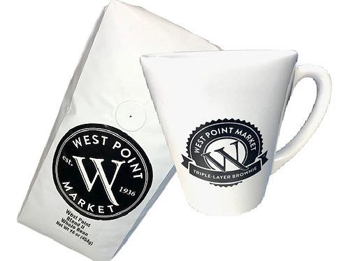 West Point Market Coffee and Coffee Mug