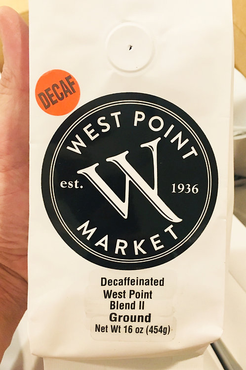 West Point Market Coffee: Decaf