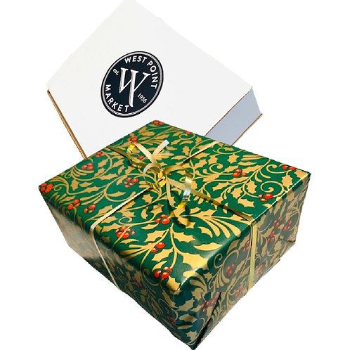 4-pack Brownie Gift Box w/Christmas Wrap