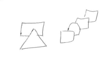 """""""קשקוש"""" צורות גאומטריות מלמד על פרקטיות, ארגון, תכליתיות ושיטתיות"""