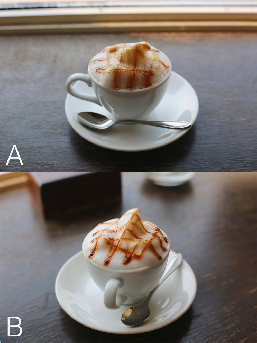 合成元写真A,B