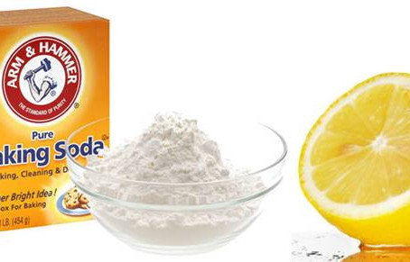 Baking Soda + Lemon Juice