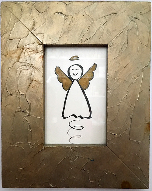 Framed picture of Angel by Kristin Morris