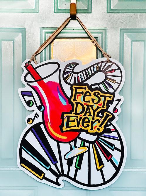 Fest Day Ever Doorhanger