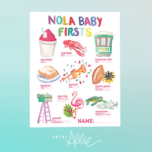 NOLA BABY FIRSTS