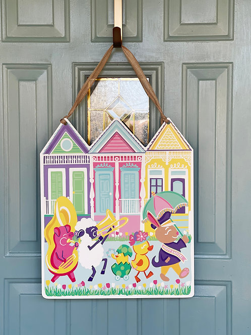Easter Parade Door Hanger
