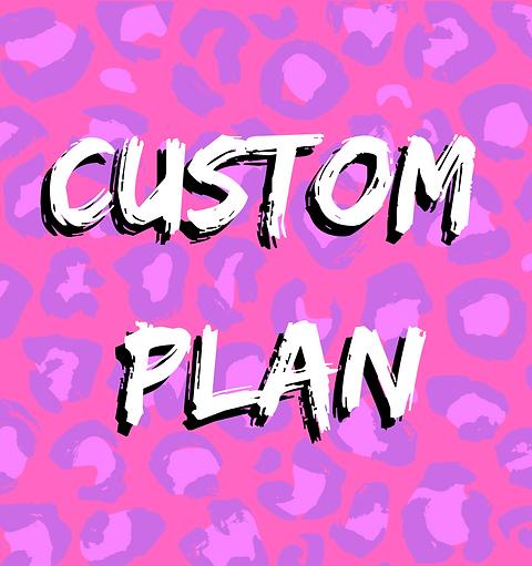 Custom Plan
