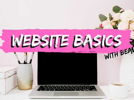 Website Basics with Bea!