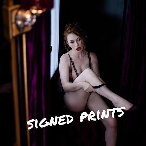 A4 Signed Prints