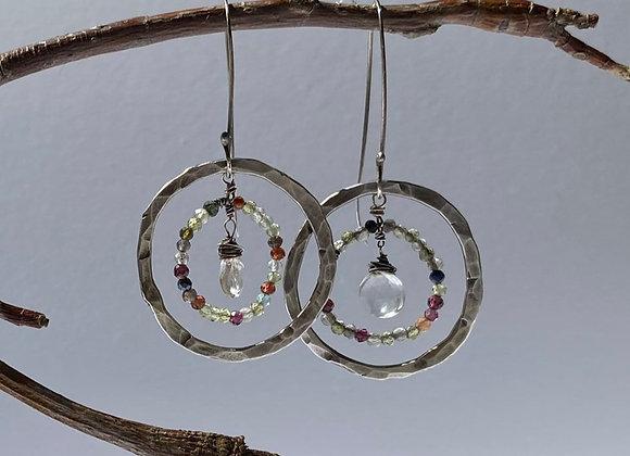 Sterling Celestial Earrings