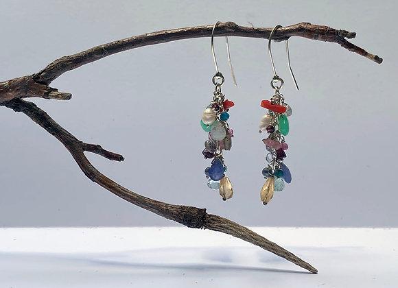 Multi Bead Dangle Casade