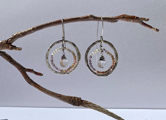 Sterling Celestial Earring