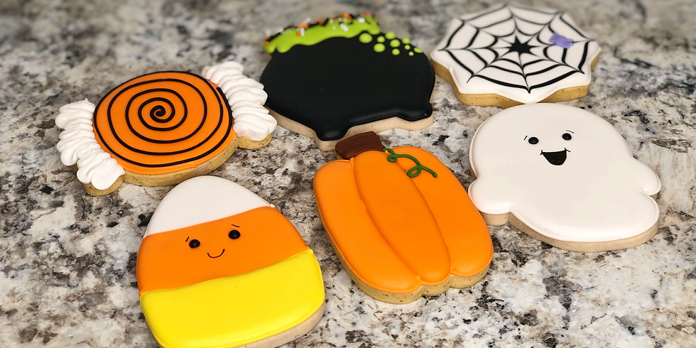 Young Bakers Halloween Cookie Workshop (Ages 6-15)