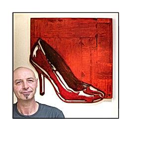 Mart de Brouwer kunst roosendaal galerie benjamin scheltema schilderij kunstenaar vrouwen hout uniek naakt art