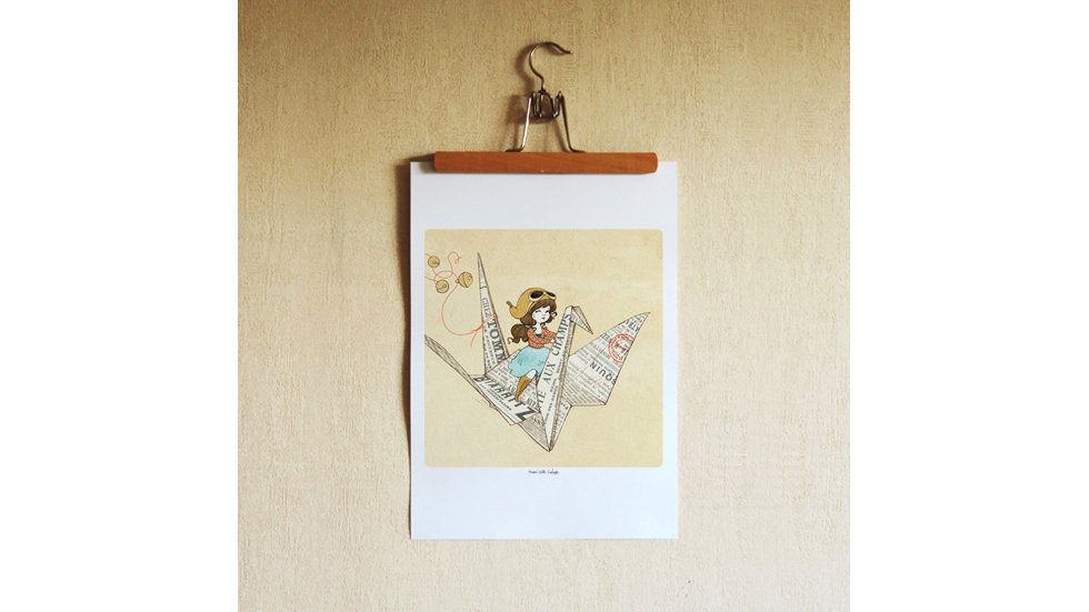 AFFICHE Lovely AirMail