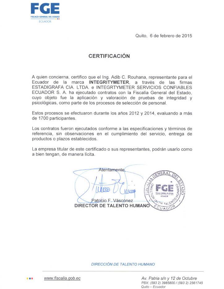 Procuratura Generala Ecuador