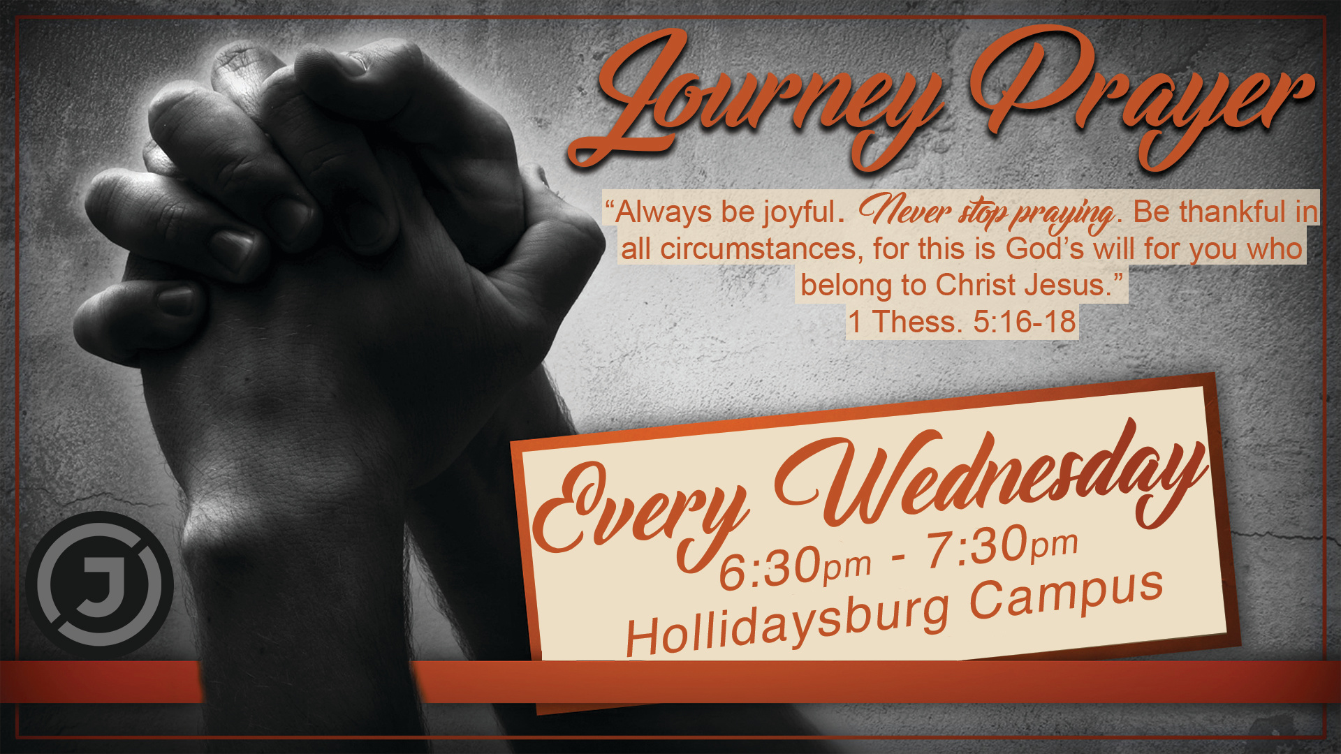 Wed Prayer Hollidaysburg Campus