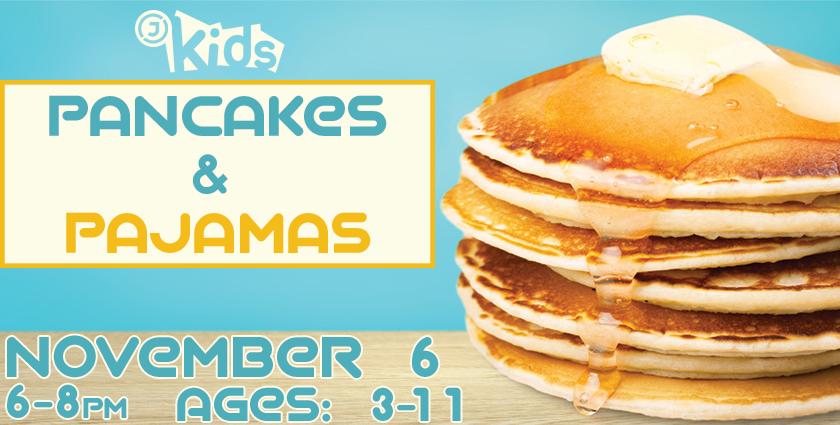 Pancakes Pajamas Brochure
