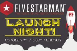 5star men launch screen