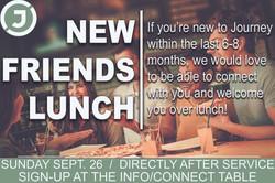 New friends Lunch Slide