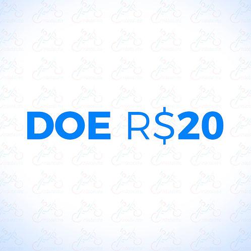 Doação R$20