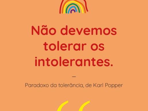 Paradoxo da tolerância de Karl Popper