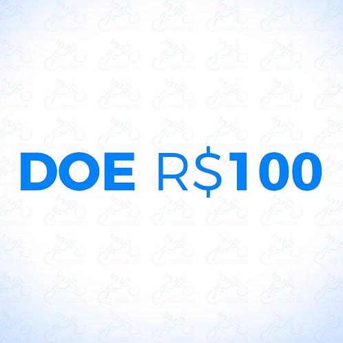 Doação R$100