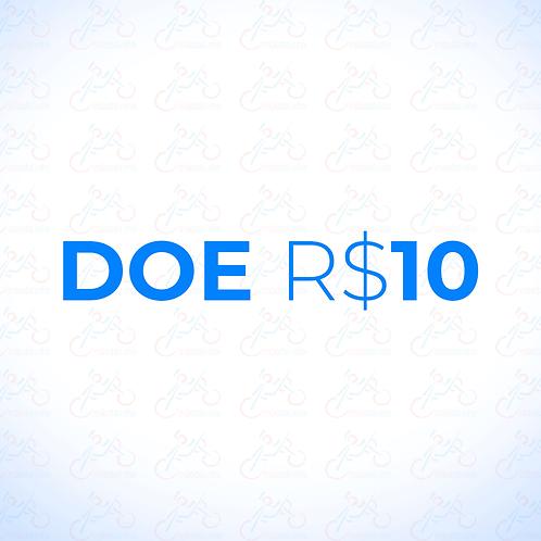 Doação R$10