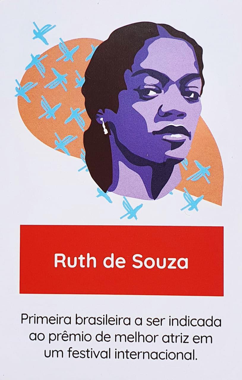 Tags: ruth de souza, mulher que inspira, artista brasileira