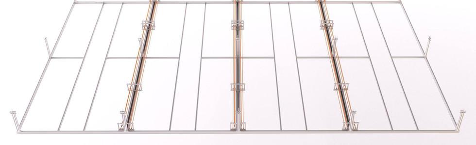 Quicklab® - Gridsystem - Medienleitungen