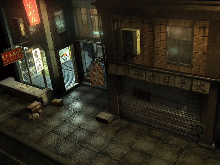 3D building asset for Chinatown section of unreleased project