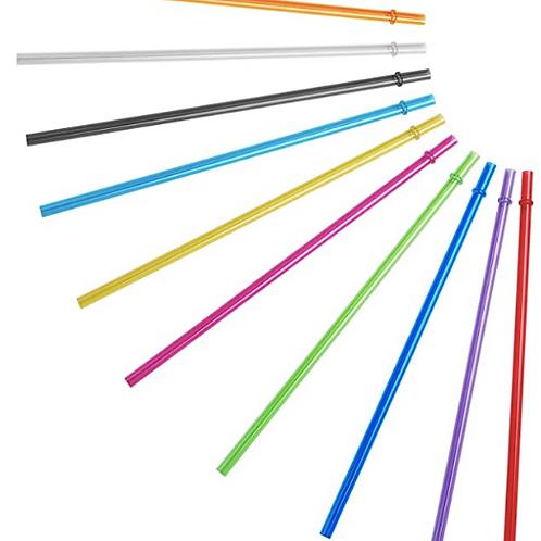 Translucent Coloured Straw