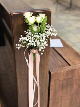 Fleurs église
