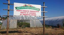 Panneau Les Vergers des Grives