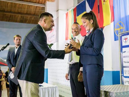 Fanny Viallard wins her first medal at the World Advanced Aerobatics Championship