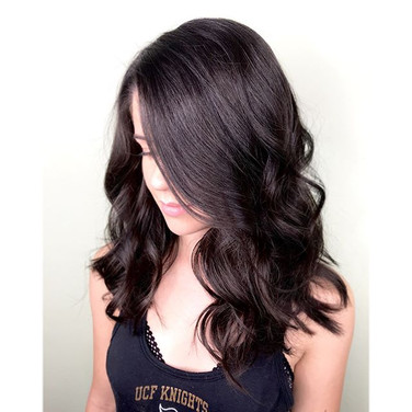 Fun piecey layers for summer! This beauty got 6 inches chopped today...jpg