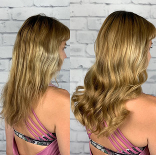👉🏻 thank you to my client who allowed me post these photos to show what can happen with improper distribution of weight in a Weft and prolonged time in-between maintenances 🥴 luckily she found me and we were able to save her hair with minimal damage.