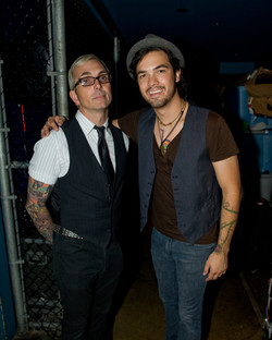 Backstage with Alex of Everclear