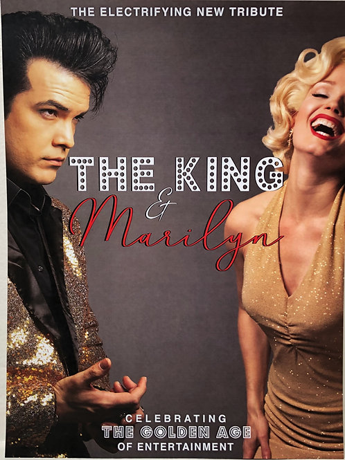 The King & Marilyn Poster