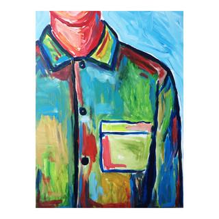 Shirt // Acrylic on canvas // 40x50