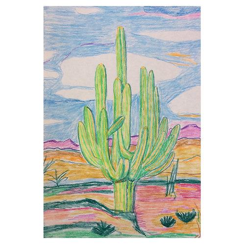 Cactus Cactelders // Original drawing