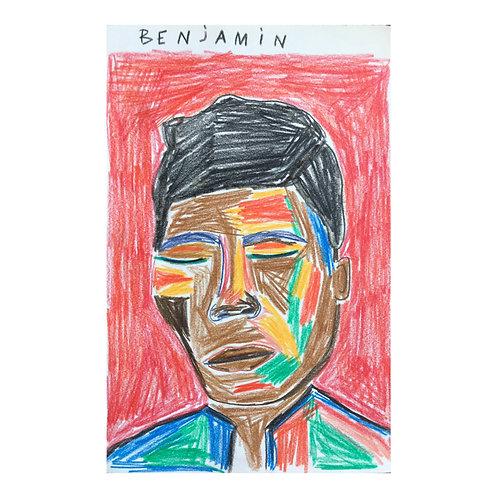Benjamin Clementine // Original drawing