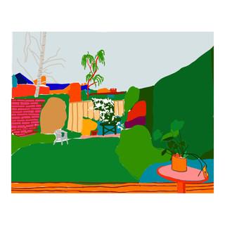 The garden / stripping down (Isolation Series N1)