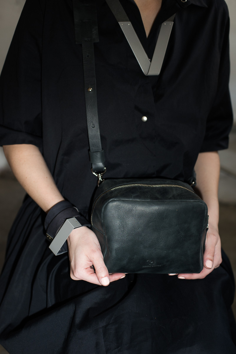 Black Mini Box Bag